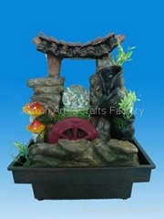polyresin fountain