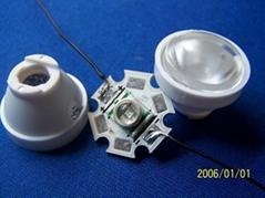 led lens / led  / optical lens / lens (HX-CREE-45)