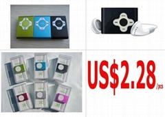 Shuffle MP3 player US$2.28/pcs