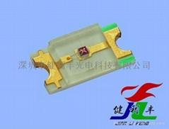 0603藍 SMD LED 貼片式發光二極管