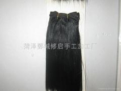 Straight hair shade