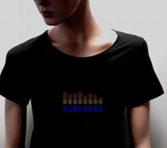 电音T恤-闪光T恤