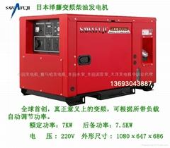 变频柴油发电机