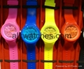 Fashionables silicon watch multi color gift watch
