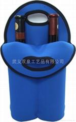 潜水料2瓶装红酒袋