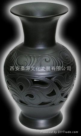 菊花瓶 陶瓷工藝品 商務禮品 家居裝飾品 新穎 1