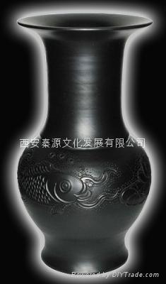 菊花瓶 陶瓷工藝品 商務禮品 家居裝飾品 新穎 3