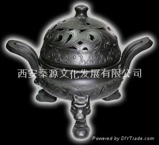 菊花瓶 陶瓷工藝品 商務禮品 家居裝飾品 新穎 4