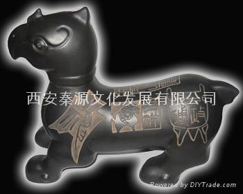 三陽開泰 陶瓷工藝品 商務禮品 家居 裝飾品 4