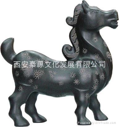 三陽開泰 陶瓷工藝品 商務禮品 家居 裝飾品 5
