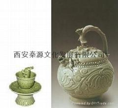 公道杯 陶瓷工藝品 商務禮品 家居裝飾品 新穎