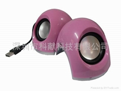 mini  USB2.0 speaker super voice/ for laptop special
