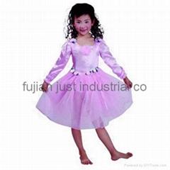 光纖發光儿童紗裙