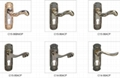 Europe countires style door lock with