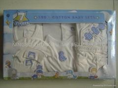 infant garment 7 pcs gift set