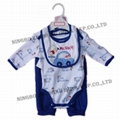 infant garment 3pcs set