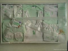 infant garment 10 pcs gift set