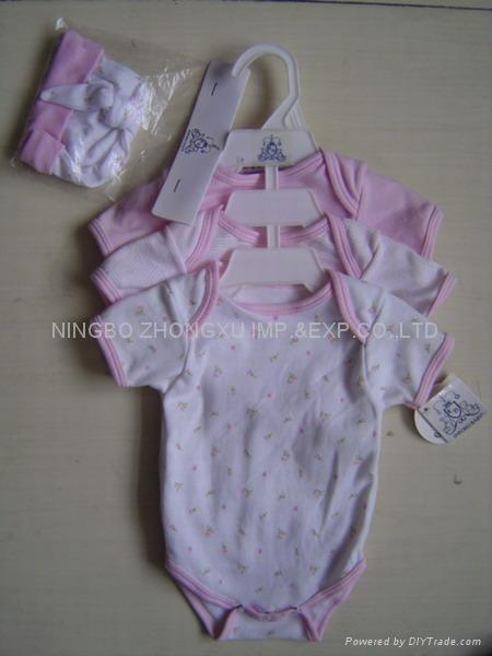 infant garment 4pcs set  1