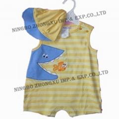 infant garment 2 pcs set