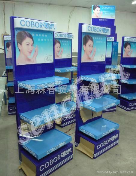亚克力化妆品展示架展柜 1