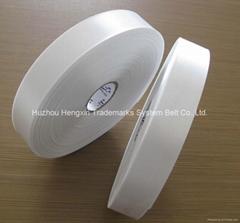 single face printing polyester satin tape