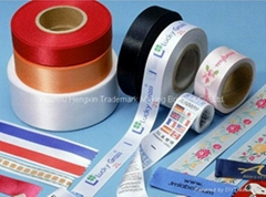 100% polyester single face printing textile ribbon