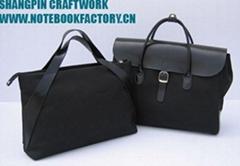leather handbag totebag briefcase portfolio