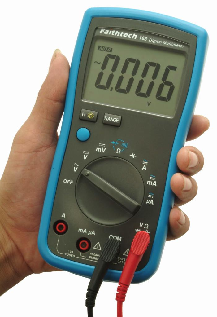 Digital Multimeter Ma : Relentless mechanical and electrical failures