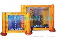免换水生态壁画.生态鱼缸.壁挂式鱼缸.生态壁画