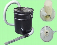 Ash cleaner for vacuum cleaner