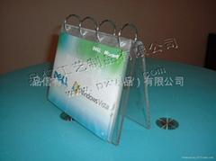 上海有機玻璃亞克力台曆架