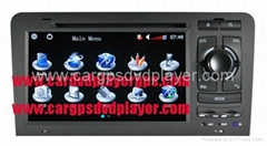 High quality Audi car DVD player for Audi A3(2003-2011), Audi S3(2003-2011) with