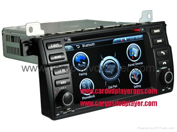 High quality BMW E46 car DVD player, with GPS navigation and 7 inch Digital Scre 1
