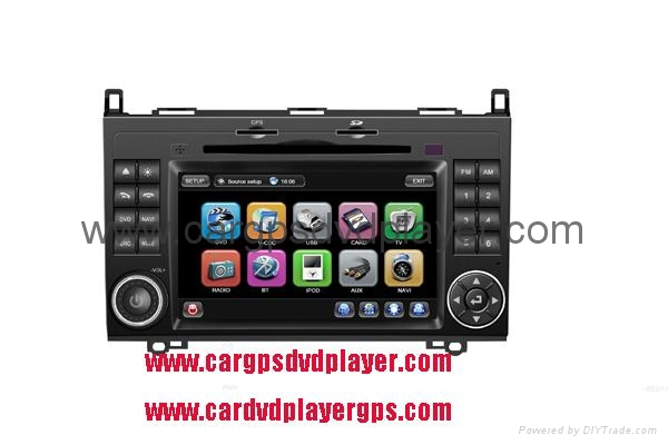 High Quality Car DVD Player, MERCEDES BENZ Sprinter car DVD player, with GPS 1