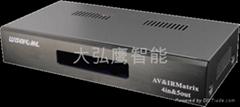 AV影音矩阵 AV交换器机 音视频交换系统 厦门智能家居