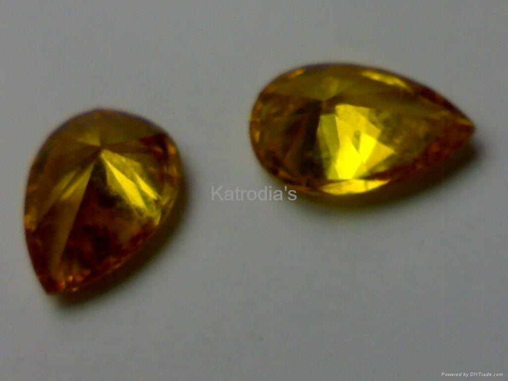 Yellow Colour Diamonds 3
