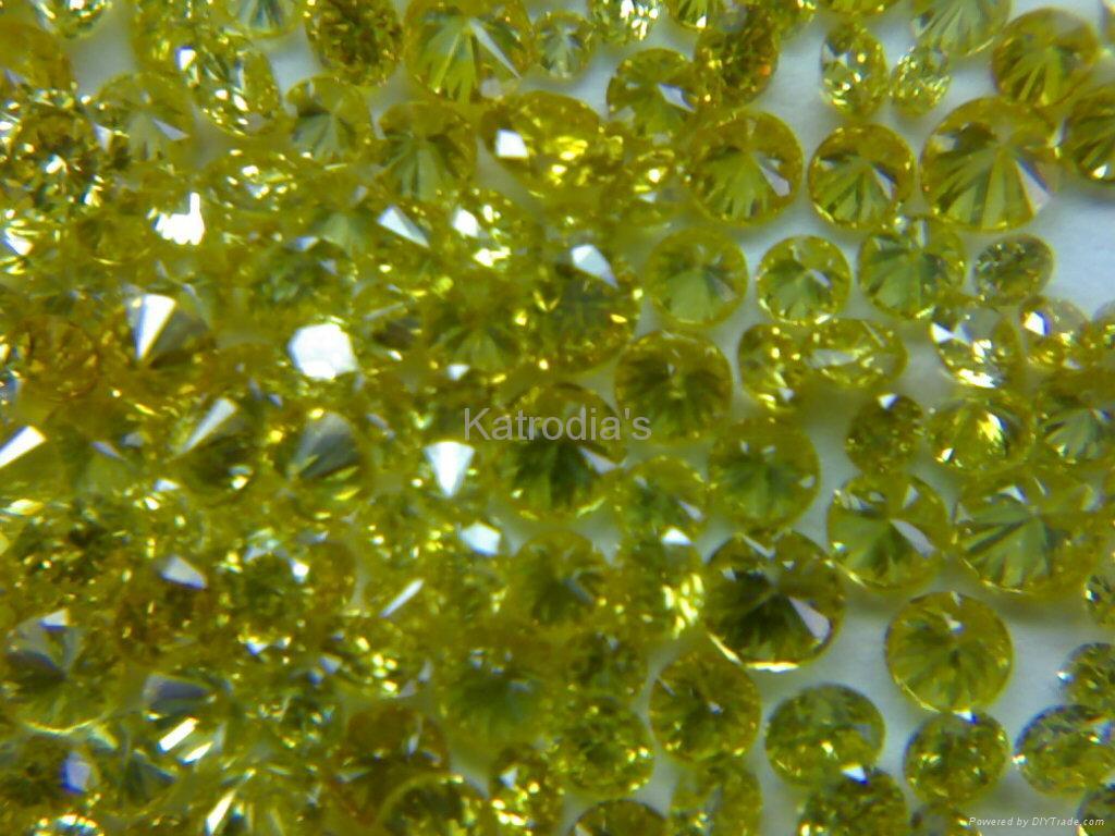 Yellow Colour Diamonds 1