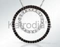 Black Diamonds Pendent