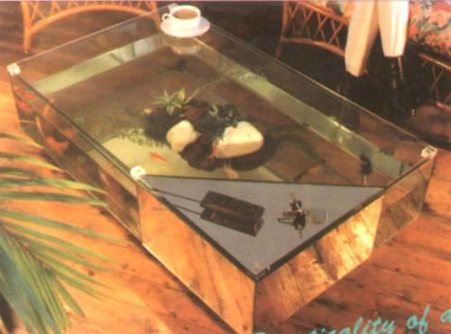 Coffee table aquarium china manufacturer aquarium for Fish tank coffee table diy