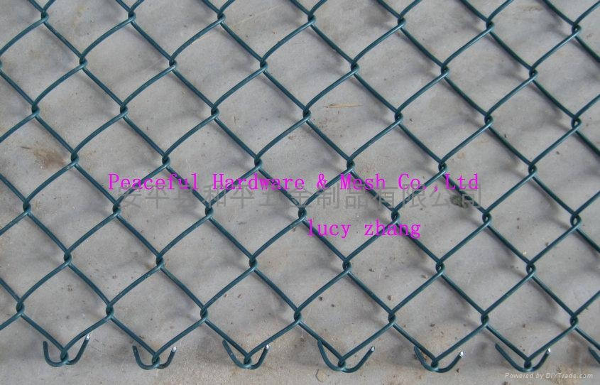 Chain link Fence Minneapolis | Galvanized  Vinyl Coated Chain