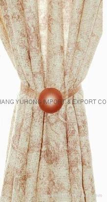 Decorative Curtain Magnetic Tieback 1