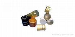 ropp caps, aluminum closures, bottle caps, pilfer proof caps, ropp closures,