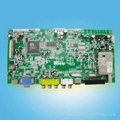 LCD TV 电视解码