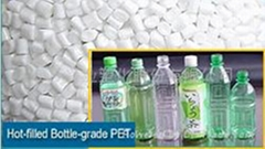 HOT-FILLED BOTTLE GRADE PET RESIN