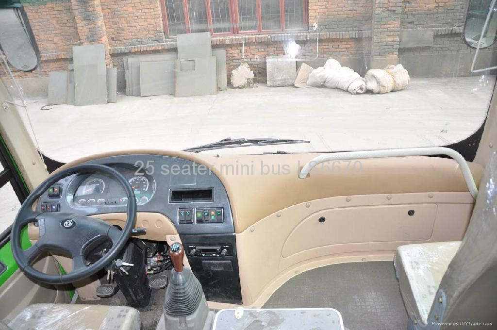 25 seater mini city bus LS6670 for sale - Lishan (China