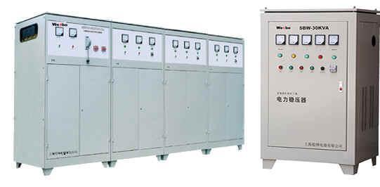 DBW 、SBW系列单、三相全自动补偿式电力稳压器 1
