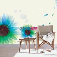 沈阳乐嘉壁纸-大型定制壁画-环保透气墙纸