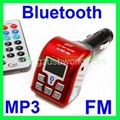Bluetooth Car kit MP3 FM Transmitter Handsfree