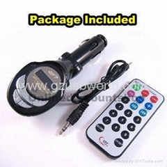Remote Car MP3 Player Wireless FM Transmitter