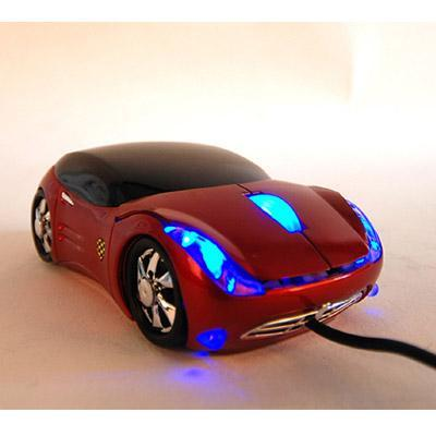 Colorful USB car mouse mice for PC & Laptop mouse
